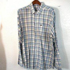 Southern Proper L/S Button Down Plaid Shirt Casual